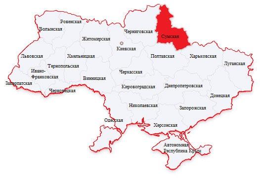Город ивана-вронковск на карте украины